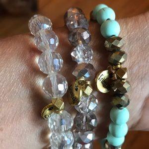 Erimish 3 bracelets with Crystals